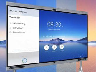Huawei Cloudlink Board solución colaborativa - Smart Integraciones Mag, Audio, Video, Seguridad, Smart Building y Redes