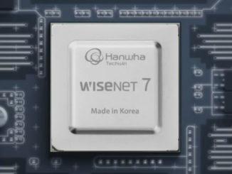 Con la introducción de su nuevo chipset Wisenet7, Hanwha Techwin pretende establecer un nuevo estándar para las soluciones de videovigilancia en red IP. Foto: Hanwha Techwin