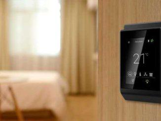 Eclypse Sky Ecosystem es un ecosistema Bluetooth para optimizar el confort y la gestión de la energía en los hoteles, desarrollado por Distech Controls. Foto: Distech Controls